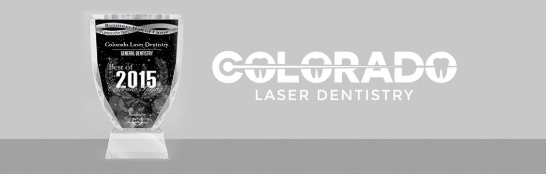 Colorado Laser Dentistry Receives 2015 Best General Dentist of Colorado Springs Award